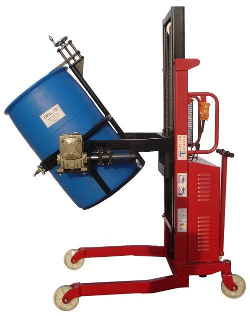 特殊电升电翻油桶车-苏州贝斯特电动堆高车